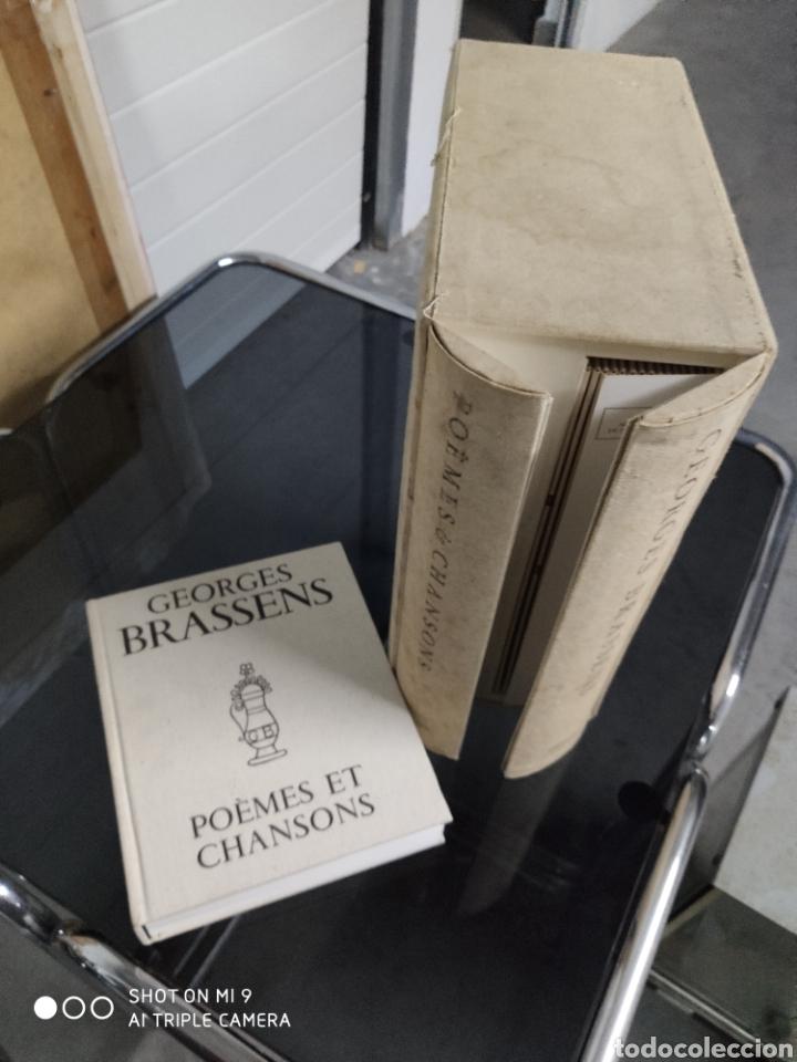 Música de colección: POEMES & CHANSONS, GEORGES BRASSENS. CAJA DE EDICIÓN LIMITADA A 10.000 UNIDADES, DIFÍCIL CONSEGUIR. - Foto 10 - 222924277