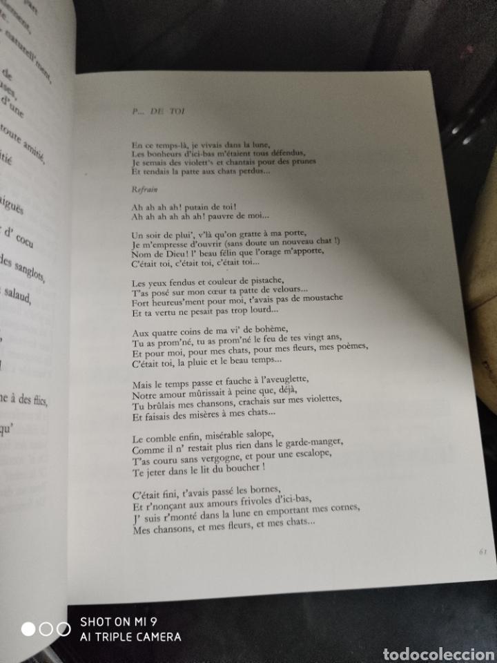 Música de colección: POEMES & CHANSONS, GEORGES BRASSENS. CAJA DE EDICIÓN LIMITADA A 10.000 UNIDADES, DIFÍCIL CONSEGUIR. - Foto 20 - 222924277