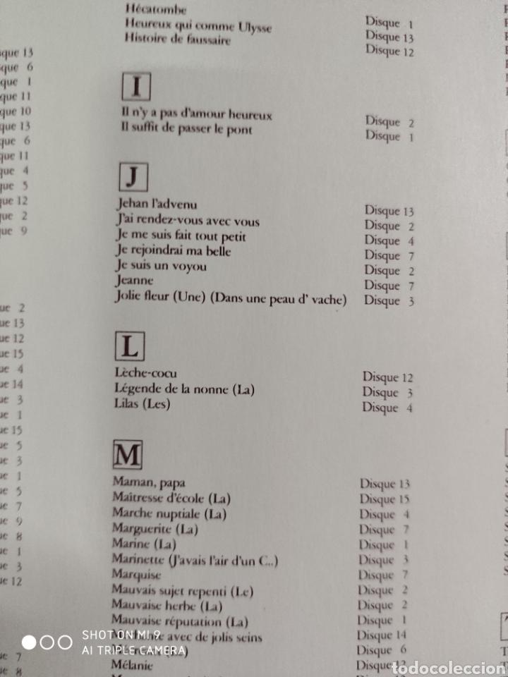 Música de colección: POEMES & CHANSONS, GEORGES BRASSENS. CAJA DE EDICIÓN LIMITADA A 10.000 UNIDADES, DIFÍCIL CONSEGUIR. - Foto 28 - 222924277