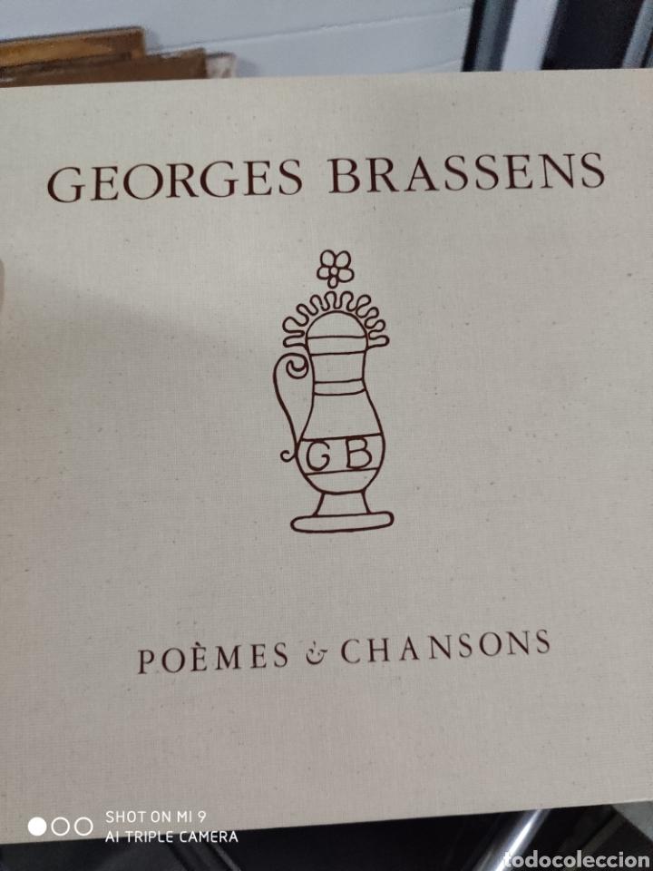 Música de colección: POEMES & CHANSONS, GEORGES BRASSENS. CAJA DE EDICIÓN LIMITADA A 10.000 UNIDADES, DIFÍCIL CONSEGUIR. - Foto 34 - 222924277