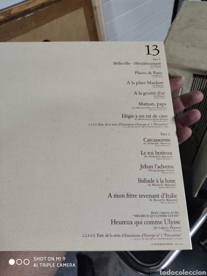 Música de colección: POEMES & CHANSONS, GEORGES BRASSENS. CAJA DE EDICIÓN LIMITADA A 10.000 UNIDADES, DIFÍCIL CONSEGUIR. - Foto 35 - 222924277