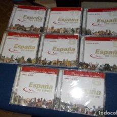 Música de colección: 8 CD DE REGIONES DE ESPAÑA. Lote 223155301