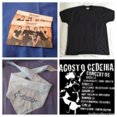 Música de colección: CONCIERTOS CEDEIRA 2010. BURNING CONCIERTO VIERNES 13. Lote 223769036
