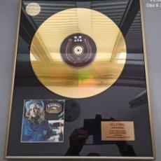 Música de colección: MADONNA - MUSIC - DISCO DE ORO.. Lote 224826527
