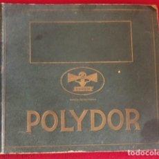 Música de coleção: ALBUM / CARPETA / ARCHIVADOR POLYDOR VACIO PARA DISCOS DE PIZARRA DE 25 CM.. Lote 226243310