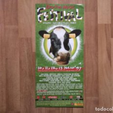 Música de coleção: CARTEL DOCTOR MUSIC FESTIVAL 1997. ESCALARRE PALLARS. ALICE COOPER, SIMPLE MINDS, JARABE DE PALO,. Lote 227549161