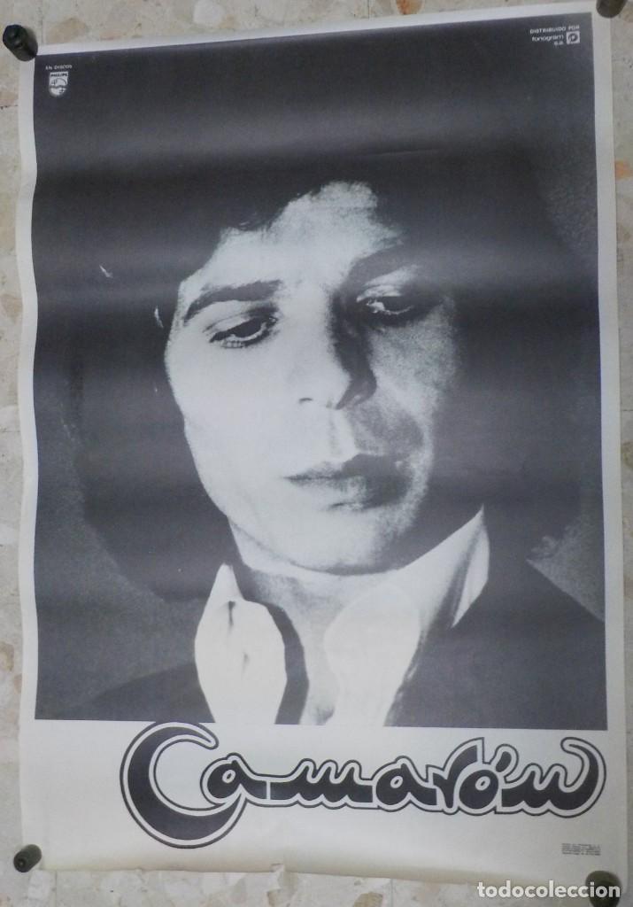 CAMARON DE LA ISLA.ANTIGUO CARTEL AÑO 1980. FONOGRAM. TAMAÑO GRANDE. (Música - Varios)