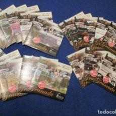 Musique de collection: ESTA ES TU TIERRA GRANADA 21 DVD'S 50 AÑOS ARCHIVOS DE RTVE COLABORACION DIPUTACION DE GRANADA 2007. Lote 228010540