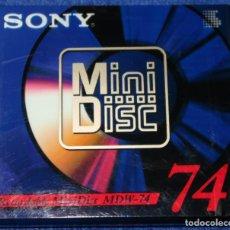 Música de colección: MINI DISC SONY MDW-74 ¡PRECINTADO!. Lote 228191056