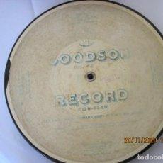 Música de colección: FLEXIDISC DISCO GOODSON RECORD COMO DE PLASTICO DE LOS AÑOS 30. Lote 228662995