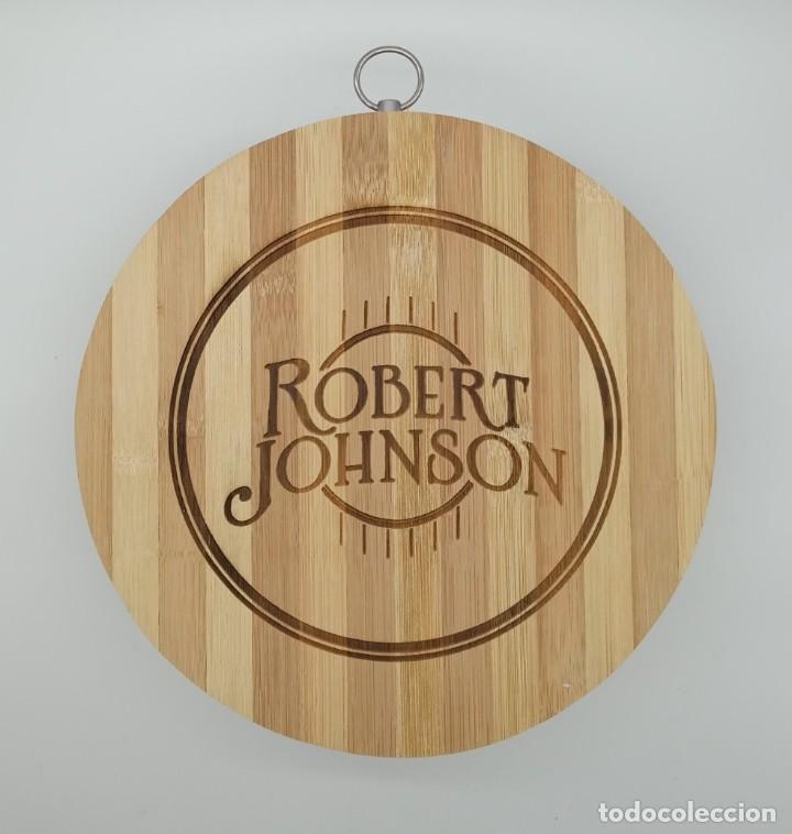 ROBERT JOHNSON BLUES / TABLA DE MADERA DE COCINA PARA CORTAR PAN O DECORAR (Música - Varios)