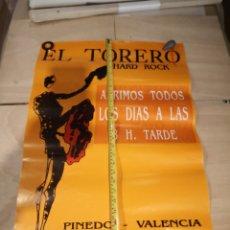 Música de colección: SPOOK FACTORY CARTEL PÓSTER DISCOTECA VALENCIA TORERO. Lote 230854165