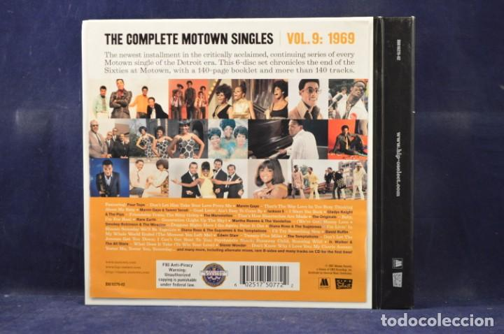 "Música de colección: VARIOUS ‎- THE COMPLETE MOTOWN SINGLES - VOL. 9: 1969 - 6CD + SINGLE 7"" - Foto 2 - 231201250"