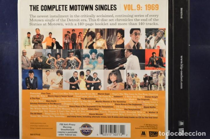 "Música de colección: VARIOUS ‎- THE COMPLETE MOTOWN SINGLES - VOL. 9: 1969 - 6CD + SINGLE 7"" - Foto 3 - 231201250"