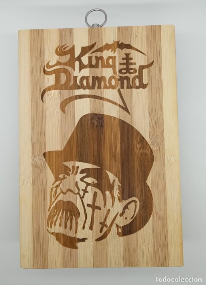 KING DIAMOND / TABLA DE MADERA DE COCINA PARA CORTAR PAN O DECORAR (Música - Varios)