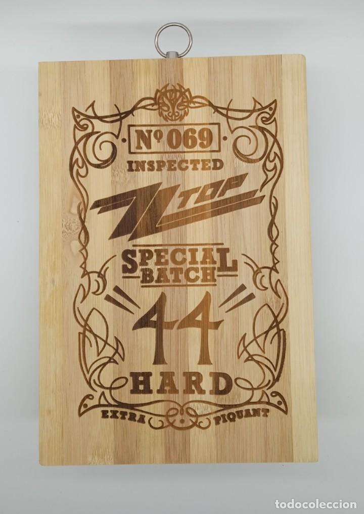 ZZ TOP SPECIAL BATCH 44 / TABLA DE MADERA DE COCINA PARA CORTAR PAN O DECORAR (Música - Varios)