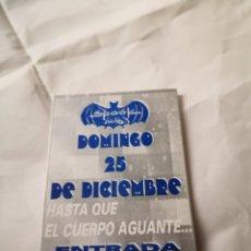 Música de coleção: SPOOK FACTORY DESCUENTO FLYER DISCOTECA VALENCIA RUTA BAKALAO. Lote 234687820