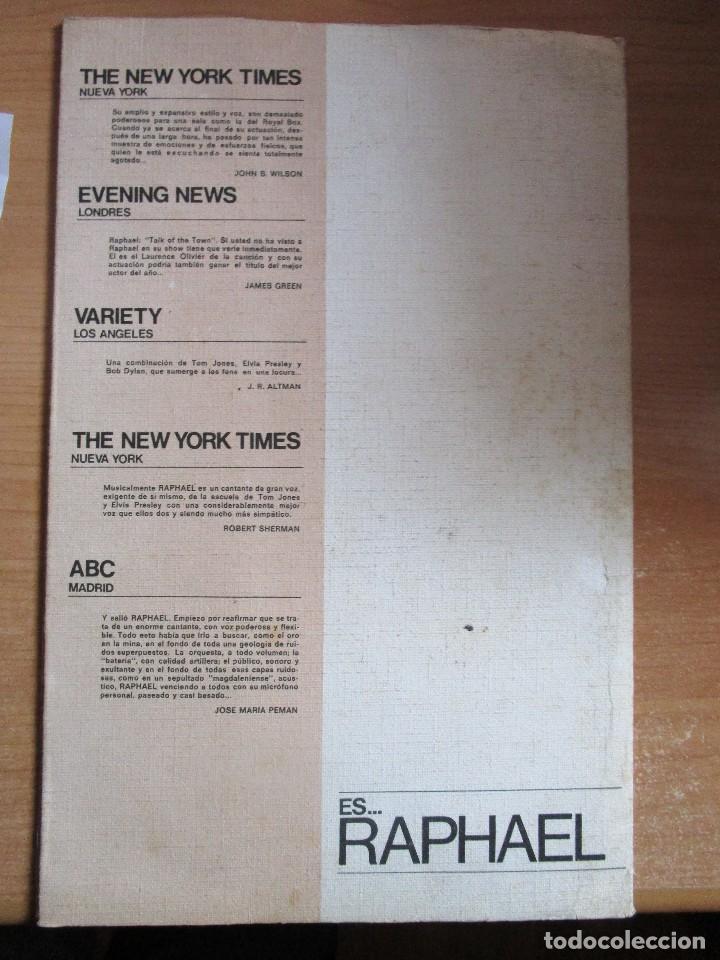 Música de colección: CARPETA RAPHAEL EN ESCENA VER LAS FOTOS - Foto 3 - 234927860