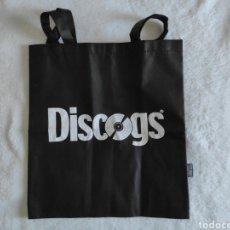 Música de coleção: BOLSA PORTA DISCOS DE VINILO. DISCOGS. Lote 235301835