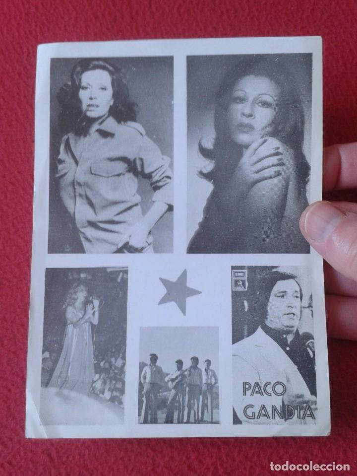 Música de colección: HOJA PROGRAMA FOLLETO PANFLETO PLAZA DE TOROS MÁLAGA ROCIO JURADO ? MARÍA JIMÉNEZ ? PACO GANDÍA 1978 - Foto 4 - 235532505