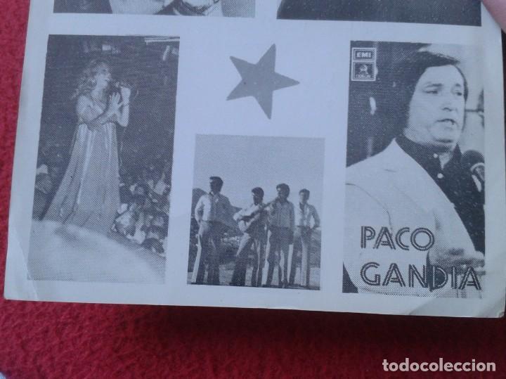 Música de colección: HOJA PROGRAMA FOLLETO PANFLETO PLAZA DE TOROS MÁLAGA ROCIO JURADO ? MARÍA JIMÉNEZ ? PACO GANDÍA 1978 - Foto 5 - 235532505