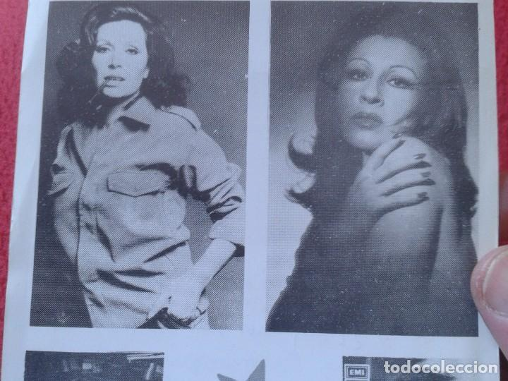 Música de colección: HOJA PROGRAMA FOLLETO PANFLETO PLAZA DE TOROS MÁLAGA ROCIO JURADO ? MARÍA JIMÉNEZ ? PACO GANDÍA 1978 - Foto 6 - 235532505