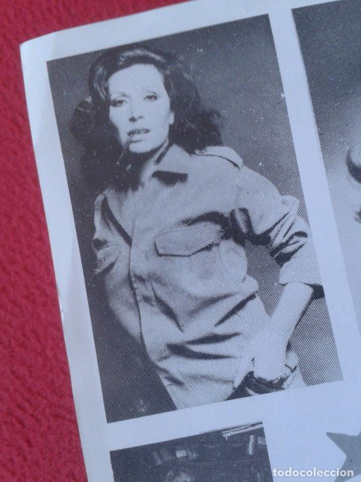 Música de colección: HOJA PROGRAMA FOLLETO PANFLETO PLAZA DE TOROS MÁLAGA ROCIO JURADO ? MARÍA JIMÉNEZ ? PACO GANDÍA 1978 - Foto 7 - 235532505