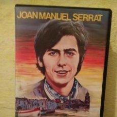 Música de colección: LA LARGA AGONIA DE LOS PECES - JOAN MANUEL SERAT -VHS - VIDEO HOBBY. Lote 236133545