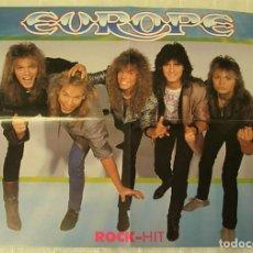 Música de colección: EUROPE POSTER 1987 MUY RARO !!. Lote 236211210