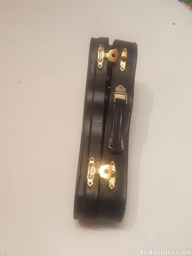 Música de colección: Miniatura guitarra española de 18 cms con peana y estuche - Foto 4 - 236996060
