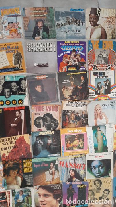 Música de colección: GRAN LOTE 139 UDs MUSICA DISCO DE VINILO SINGLE ROCK POP DISNEY BANDA SONORA CUENTO ESPECIAL - Foto 4 - 198651863