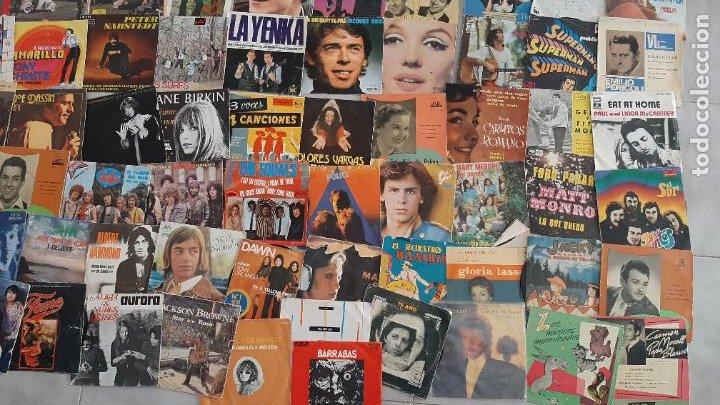 Música de colección: GRAN LOTE 139 UDs MUSICA DISCO DE VINILO SINGLE ROCK POP DISNEY BANDA SONORA CUENTO ESPECIAL - Foto 7 - 198651863
