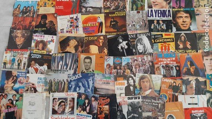 Música de colección: GRAN LOTE 139 UDs MUSICA DISCO DE VINILO SINGLE ROCK POP DISNEY BANDA SONORA CUENTO ESPECIAL - Foto 8 - 198651863