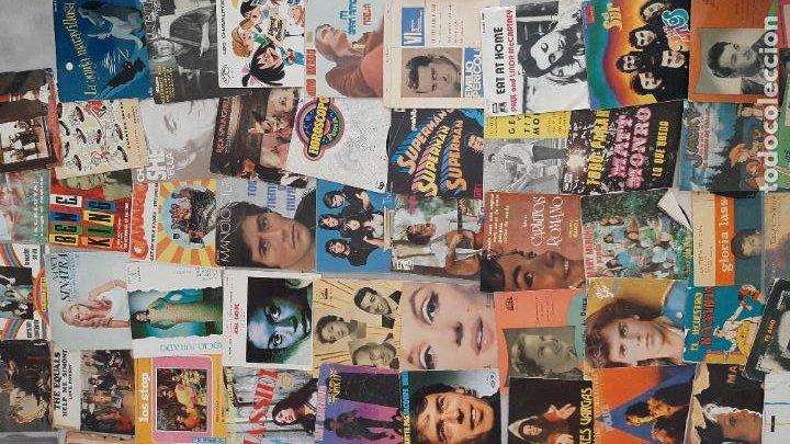 Música de colección: GRAN LOTE 139 UDs MUSICA DISCO DE VINILO SINGLE ROCK POP DISNEY BANDA SONORA CUENTO ESPECIAL - Foto 9 - 198651863