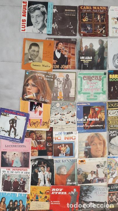 Música de colección: GRAN LOTE 139 UDs MUSICA DISCO DE VINILO SINGLE ROCK POP DISNEY BANDA SONORA CUENTO ESPECIAL - Foto 11 - 198651863