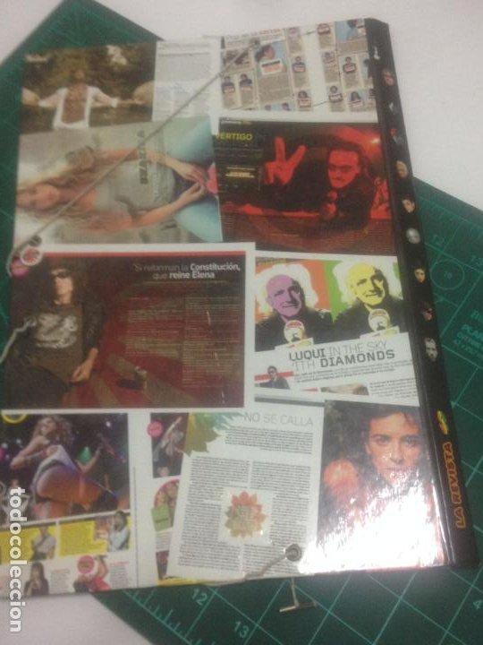 Música de colección: CARPETA REVISTA 40. U2. BUNBURY.SHAKIRA.JOAQUIN SABINA.BEBE.ROSSI.ELSA PATAKY.AMARAL.GREEN DAY.YETUE - Foto 2 - 237016260