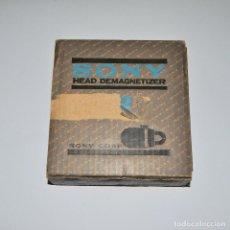 Música de colección: SONY HEAD DEMAGNETIZER (DESMAGNETIZADOR). Lote 237026715