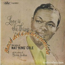 Música de colección: LOVE IS THE THING, NAT KING COLE, CINTA MAGNETICA DE AUDIO PARA MAGNETOFÓN, 3 3/4 IPS MONO 10CM. Lote 237310710
