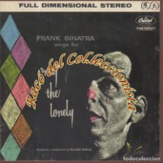 Música de colección: ONLY THE LONELY, FRANK SINATRA, CINTA MAGNETICA DE AUDIO PARA MAGNETOFÓN, 7 1/2 IPS STEREO 17 CMS.. Lote 237312090