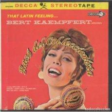 Música de colección: THAT LATIN FEELING, BERT KAEMPFERT, CINTA MAGNETICA DE AUDIO PARA MAGNETOFÓN, 7 1/2 IPS STEREO 17 CM. Lote 237312745