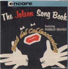 Música de colección: THE JOLSON SONG BOOK, CINTA MAGNETICA DE AUDIO PARA MAGNETOFÓN, 7 1/2 IPS STEREO 17CMS.. Lote 237313645
