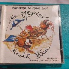 Música de colección: CD CARNAVAL DE CADIZ 2002 -LOS MORAZOS DE LA VIÑA-DE MANOLITO SANTANDER. Lote 239492725