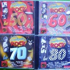 Música de coleção: LA GRAN ENCICLOPEDIA DEL ROCK - EN 4 CD-ROM (CON PISTAS DE AUDIO). Lote 239517775