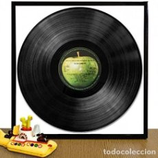 Música de coleção: MARCO PARA COLGAR DISCOS DE VINILO * MARCO METÁLICO Y CRISTAL * NUEVO PRECINTADO. Lote 240281180