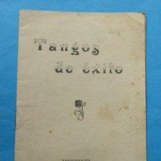 Música de colección: LIBRITO DE ´TANGOS DE ÉXITO´. 31 PÁGINAS. 15,5 X 11 CM.. Lote 244499160
