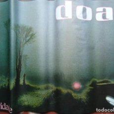 Música de colección: IMPRESIONENTE CARTEL DEL GRUPO DOA 1984 POLARIDADE MIDE 63 X 95CM. IMPECABLE FOTO XOAN PIÑON. Lote 244556110