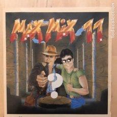 Musique de collection: MAX MIX 11 RECORTE REVISTA PROMO. Lote 244593880