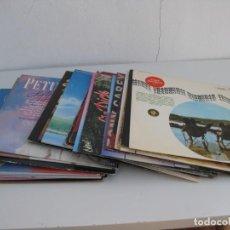 Música de colección: LOTE DE 30 DISCOS VINILOS. LPS. MUSICA DE TODO TIPO EXTRANJERA. Lote 245096640
