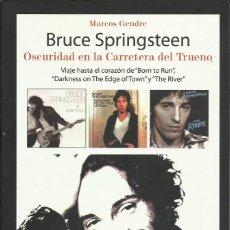 Música de coleção: BRUCE SPRINGSTEEN OSCURIDAD ... BIOGRAFIA. Lote 245568825
