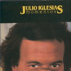 Música de colección: LP: JULIO IGLESIAS MOMENTOS. Lote 245587850